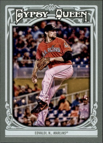 Photo of 2013 Topps Gypsy Queen #55 Nathan Eovaldi