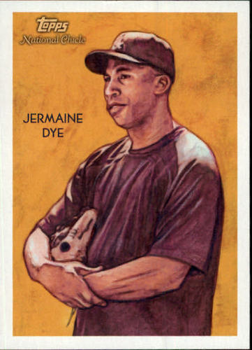 Photo of 2010 Topps National Chicle #80 Jermaine Dye