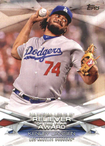 Photo of 2018 Topps MLB Awards #MLBA4 Kenley Jansen