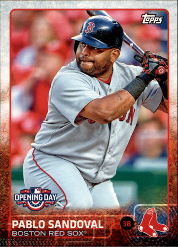 Photo of 2015 Topps Opening Day #18A Pablo Sandoval