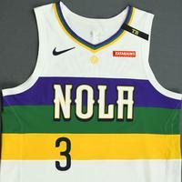 Stanley Johnson - New Orleans Pelicans - Game-Worn City Edition Jersey - 2018-19 Season