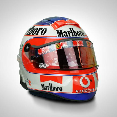 Photo of Rubens Barrichello 2005 Race-used Helmet