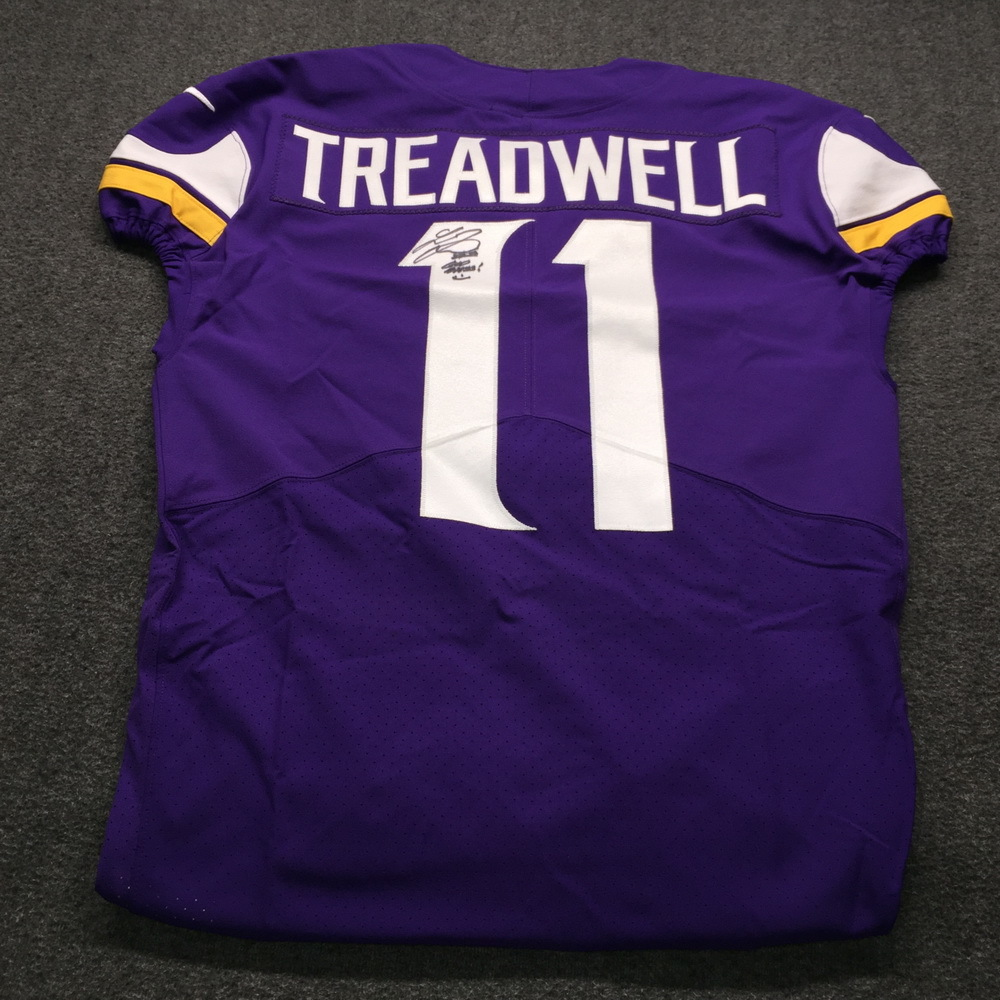 promo code 2b7ac e23e8 NFL Auction | STS - Vikings Laquon Treadwell Signed and Game ...