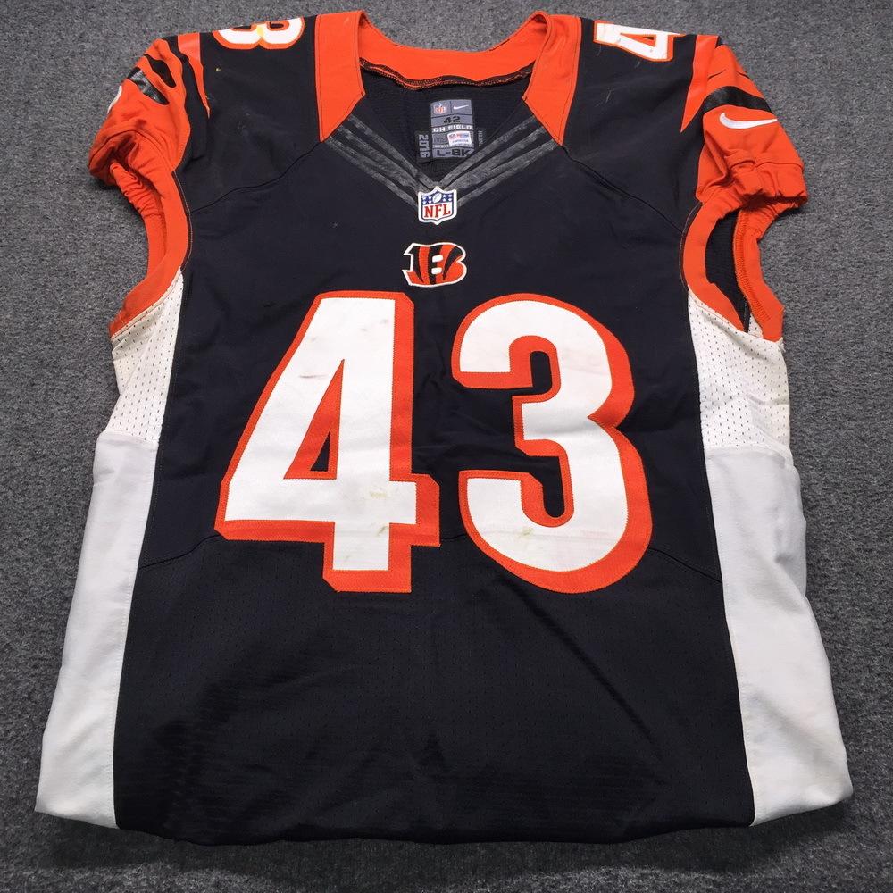 NFL Auction | NFL - Bengals International Series George Iloka Game ...
