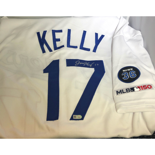 Photo of Joe Kelly Authentic Autographed Los Angeles Dodgers Jersey - Newcombe Patch - Size 48