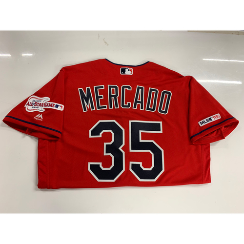 Photo of Oscar Mercado 2019 Team Issued Alternate Home Jersey with ASG Patch