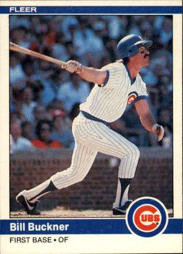 Photo of 1984 Fleer #488 Bill Buckner