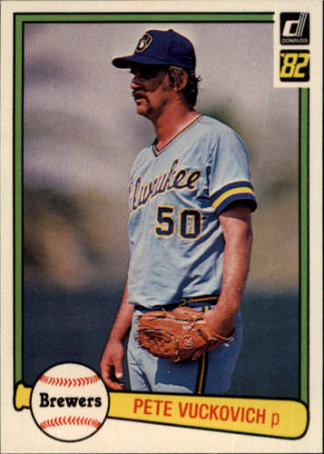 Photo of 1982 Donruss #458 Pete Vuckovich