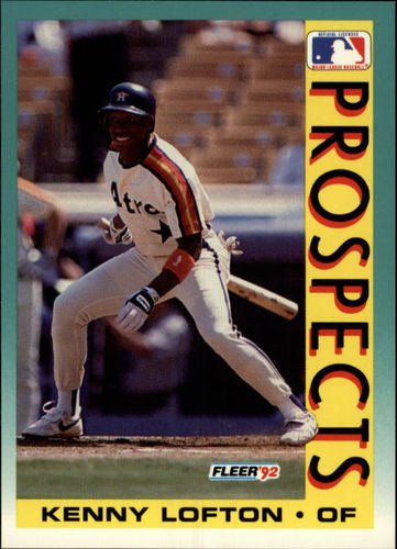Photo of 1992 Fleer #655 Kenny Lofton MLP