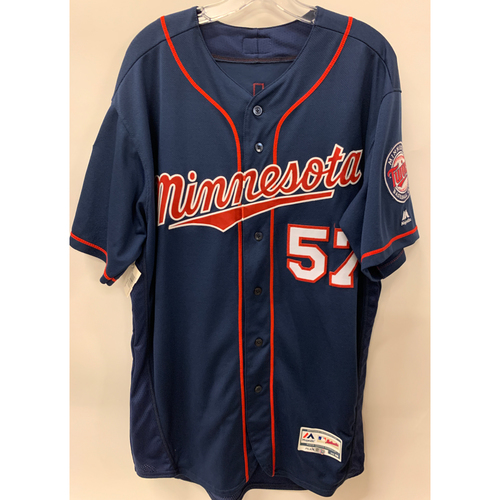 Photo of Minnesota Twins - 2019 Team Issued Navy Spring Training Jersey Grab Bag