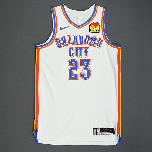 Image of Terrance Ferguson - Oklahoma City Thunder - Game-Worn Association Edition Jersey - 2019-20 NBA Season