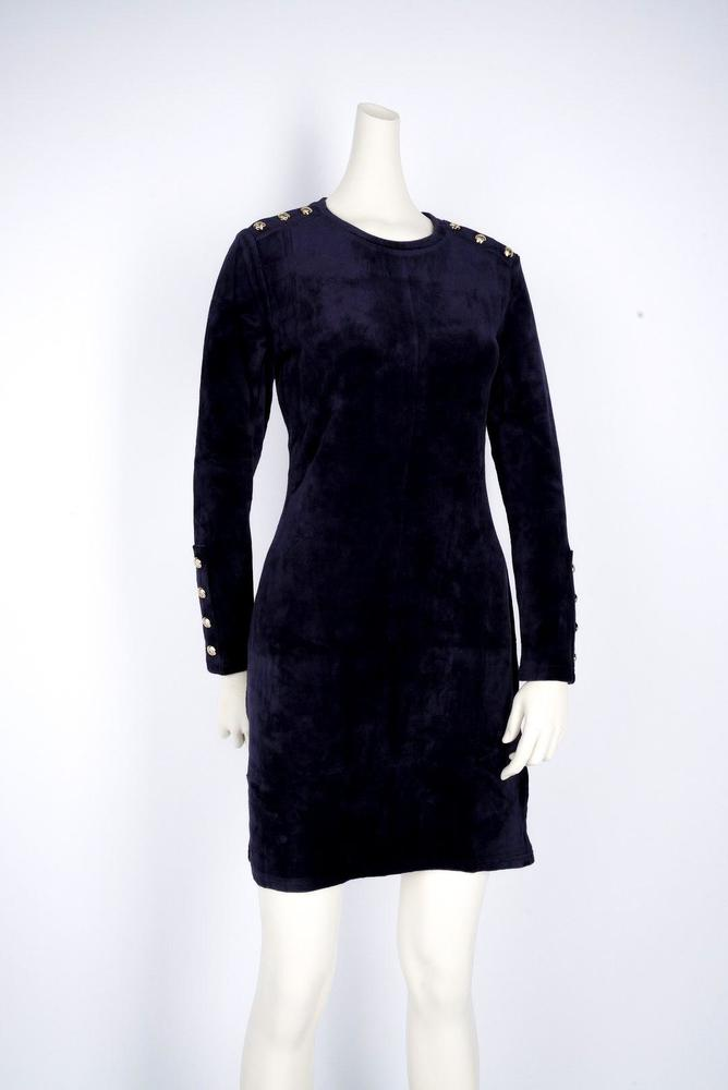 Photo of Juicy Couture Black Label Velour Stretch Dress