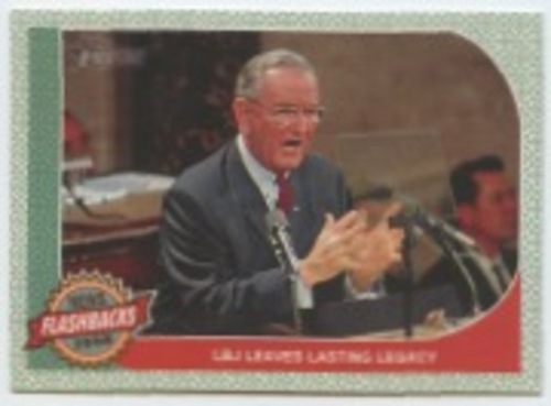 Photo of 2017 Topps Heritage News Flashbacks #NF4 President Johnson