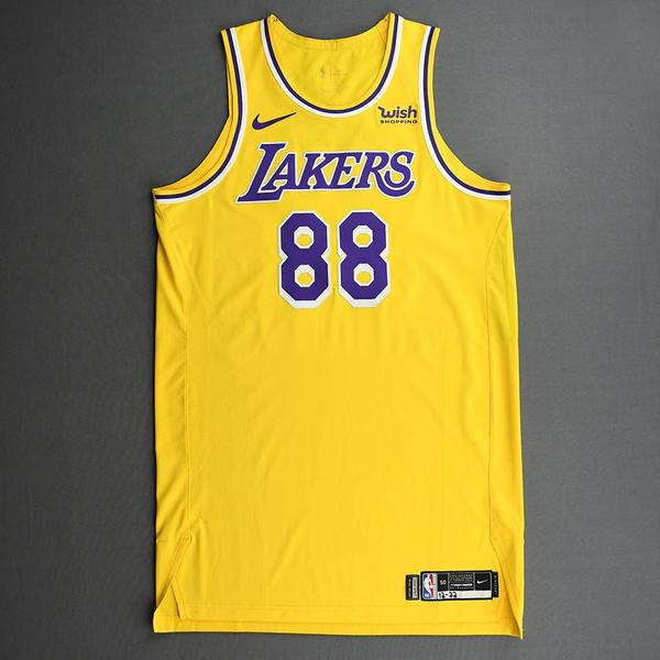 Image of Markieff Morris - Los Angeles Lakers - Kia NBA Tip-Off 2020 - Game-Worn Icon Edition Jersey