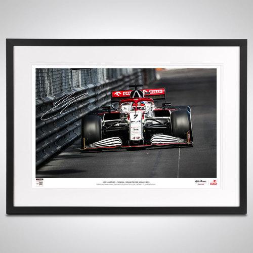 Photo of Kimi Raikkonen 2021 Signed Photograph - Limited Edition