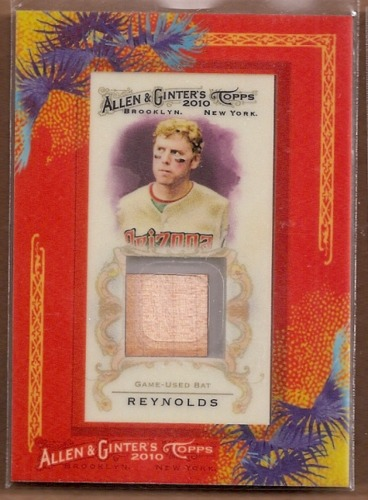 Photo of 2010 Topps Allen and Ginter Relics #MR Mark Reynolds