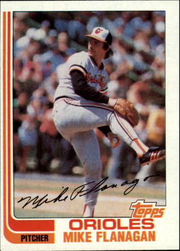 Photo of 1982 Topps #520 Mike Flanagan
