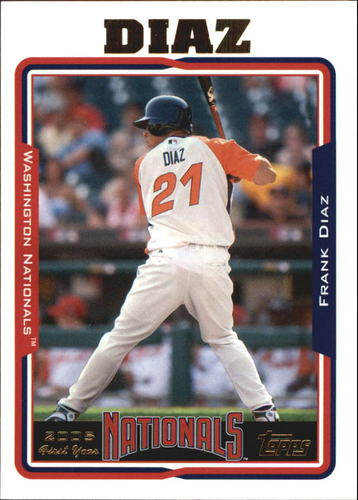 Photo of 2005 Topps Update #310 Frank Diaz FY RC
