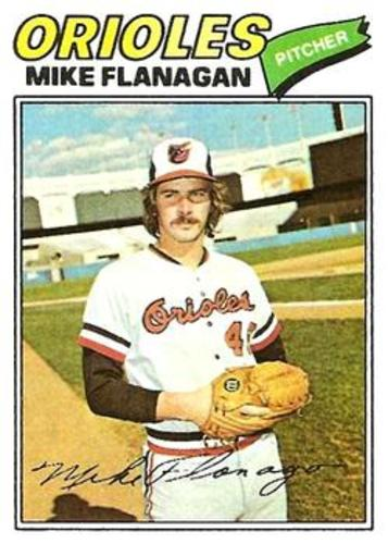 Photo of 1977 Topps #106 Mike Flanagan