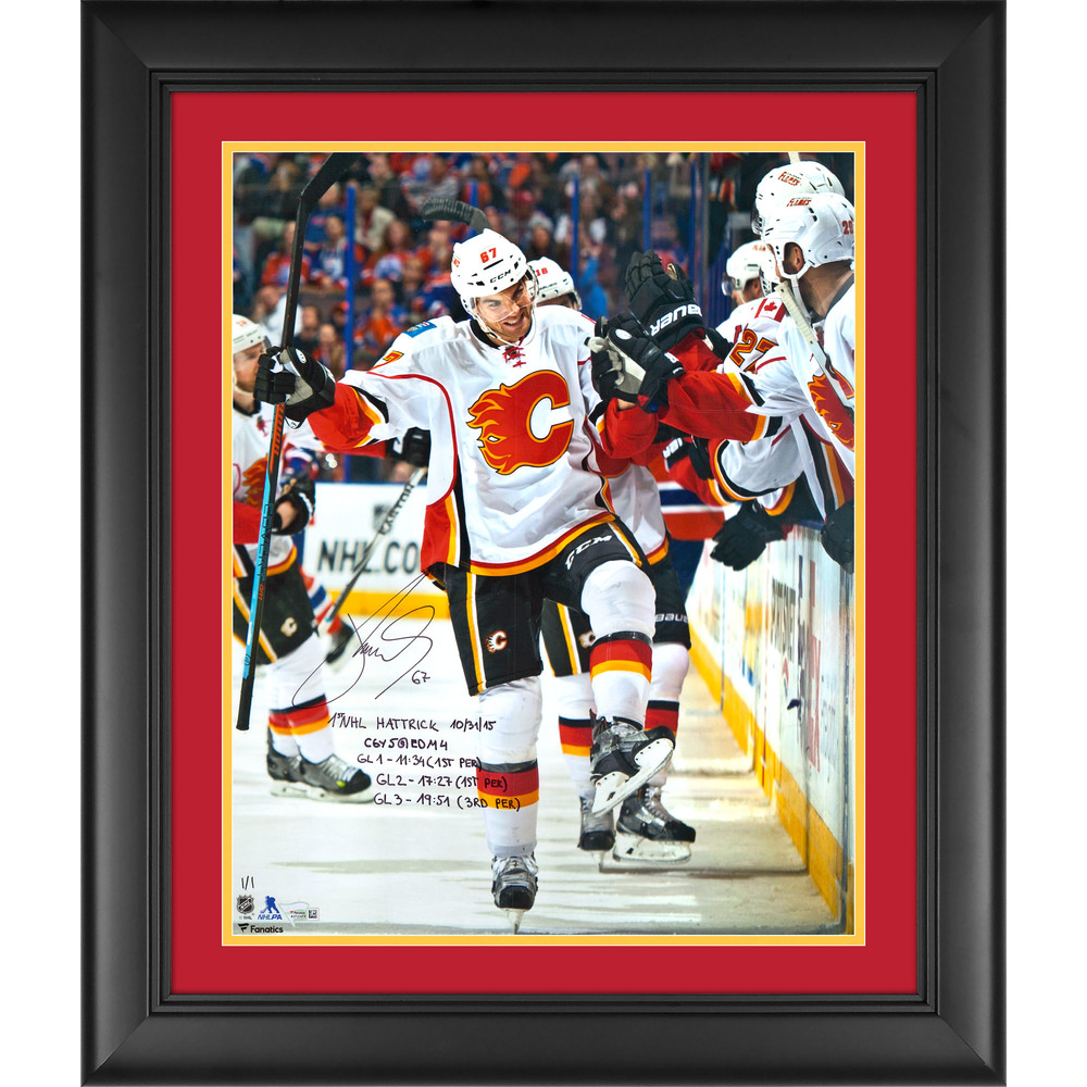 Michael Frolik Calgary Flames Framed Autographed 16