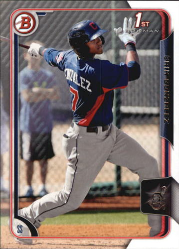 Photo of 2015 Bowman Prospects #BP48 Erik Gonzalez