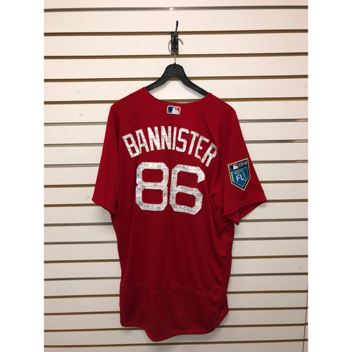 Brian Bannister Team-Issued 2018 Spring Training Jersey