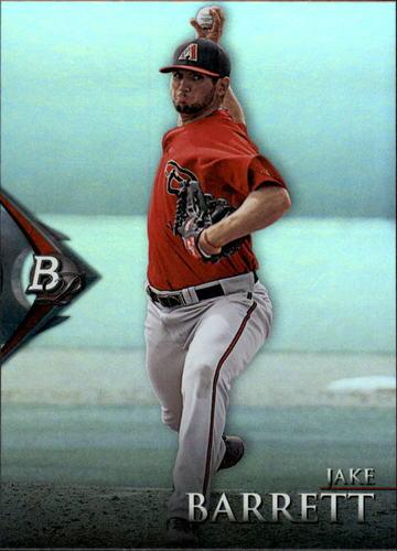 Photo of 2014 Bowman Platinum Prospects #BPP81 Jake Barrett