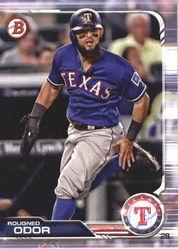 Photo of 2019 Bowman #77 Rougned Odor