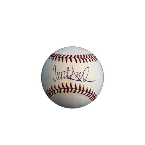 Photo of Clint Hurdle Autographed Baseball