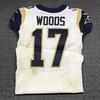 London Games - Rams Robert Woods game worn Rams jersey (October 22, 2017) Size 38