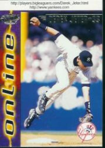 Photo of 1998 Pacific Online #505 Derek Jeter*