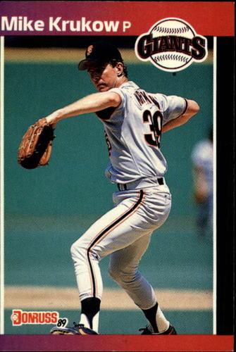 Photo of 1989 Donruss #258 Mike Krukow