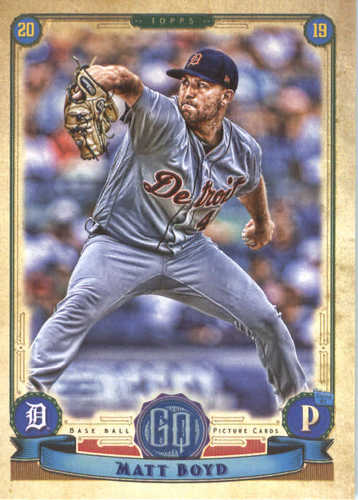 Photo of 2019 Topps Gypsy Queen #24 Matt Boyd