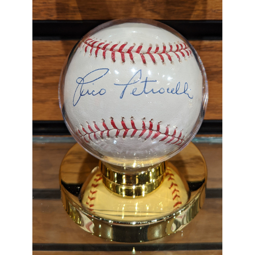 Photo of Rico Petrocelli Autographed Baseball
