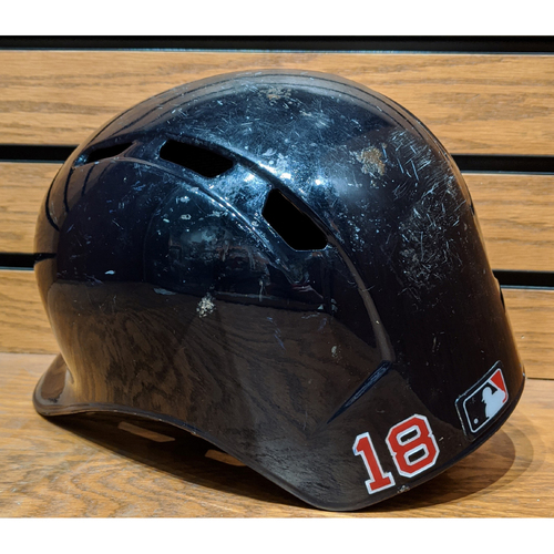 Photo of Mitch Moreland #18 Game Used Batting Helmet