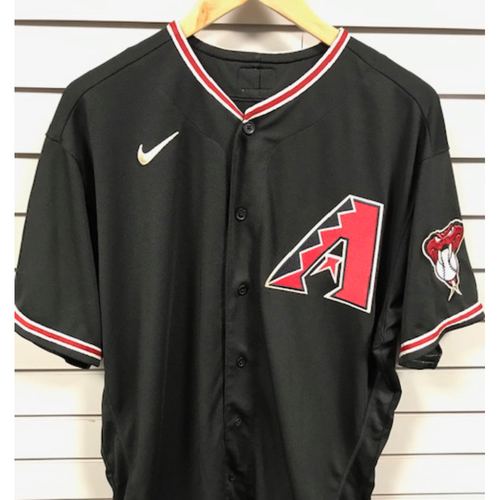 Photo of Torey Lovullo 2020 Game-Used Black Alternate Jersey - 9/26/20 vs. Rockies (Size 48)