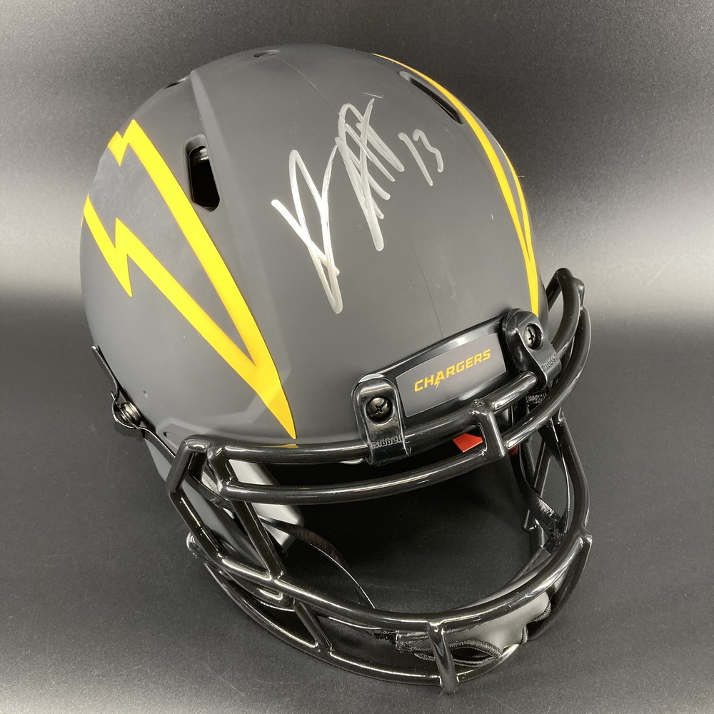 NFL - Chargers Eclipse Helmet Signed by Joey Bosa and Keenan Allen