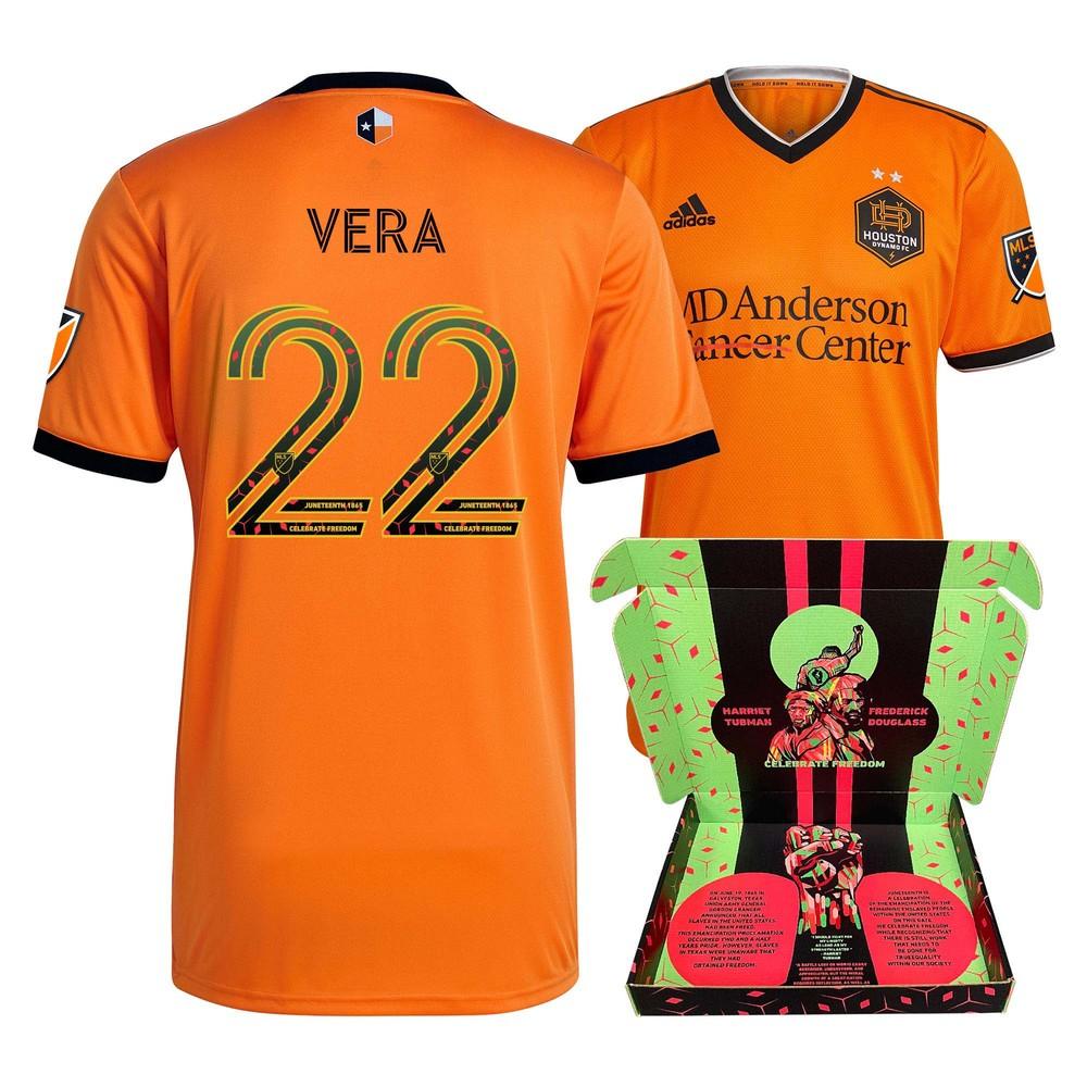 Matías Vera Houston Dynamo FC Match-Used & Signed