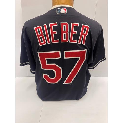 Photo of Team Issued Jersey - Shane Bieber #57