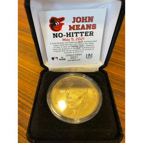 Photo of John Means: No-Hitter Commemorative Coin (Limited Edition)