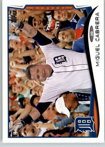 Photo of 2014 Topps #250A Miguel Cabrera