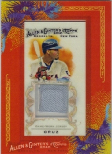 Photo of 2010 Topps Allen and Ginter Relics #NC Nelson Cruz