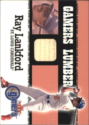 Photo of 2000 Fleer Gamers Lumber #29 Ray Lankford