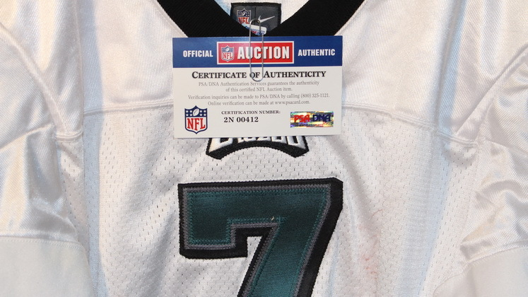 new style 887d6 c6126 NFL Auction | EAGLES MICHAEL VICK GAME WORN JERSEY (OCTOBER ...