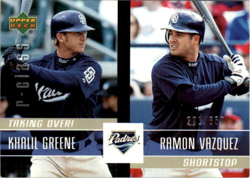 Photo of 2004 Upper Deck r-class Taking Over! #19 K.Greene/R.Vazquez