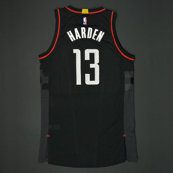Houston Rockets Game Log: Game-Worn Black Alternate