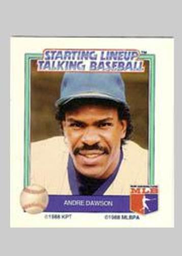 Photo of 1988 Starting Lineup All-Stars #10 Andre Dawson