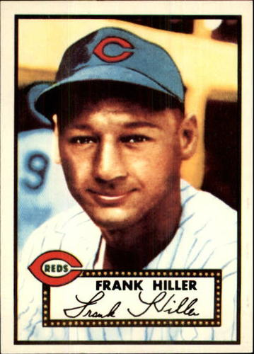 Photo of 1983 Topps 1952 Reprint #156 Frank Hiller