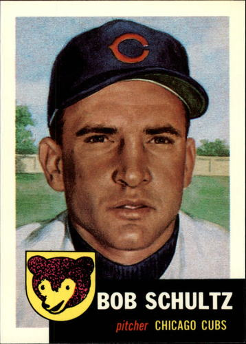 Photo of 1991 Topps Archives 1953 #144 Bob Schultz