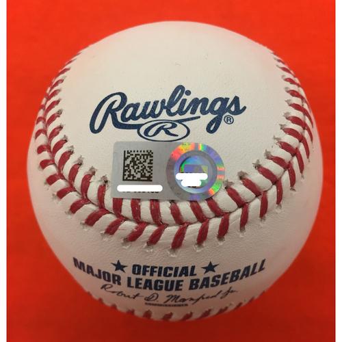 Photo of Autographed Carlos Correa Baseball
